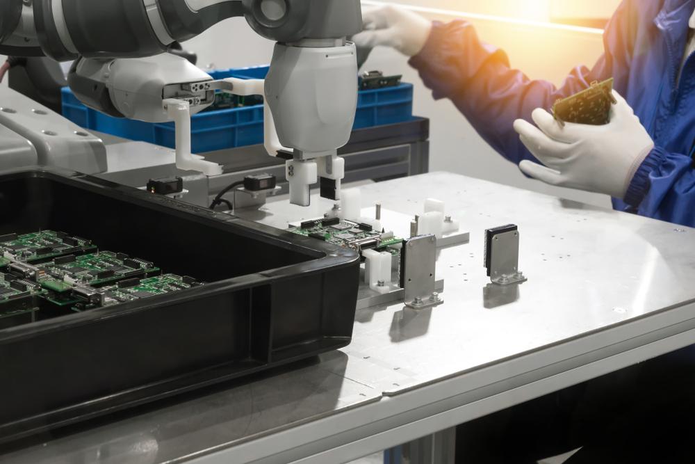 Industrie 4.0 Roboter